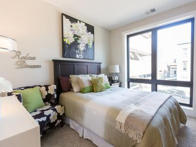Walnut Street Commons Bedroom